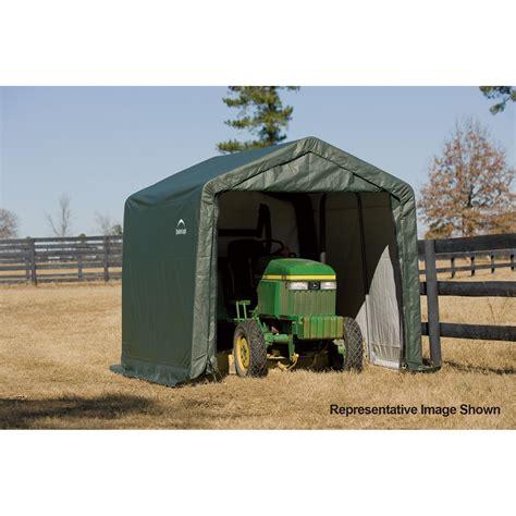 Shelterlogic Sheds by Shelterlogic Peak Style Shed Storage Shelter 12ft L X