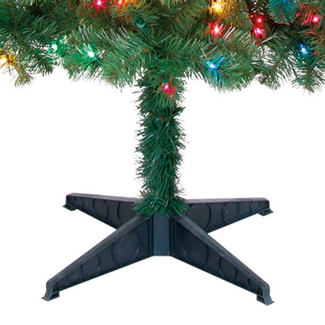pre lit 6 5 artificial christmas tree multicolor lights w