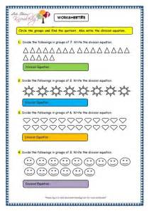 grade  maths worksheets division  division