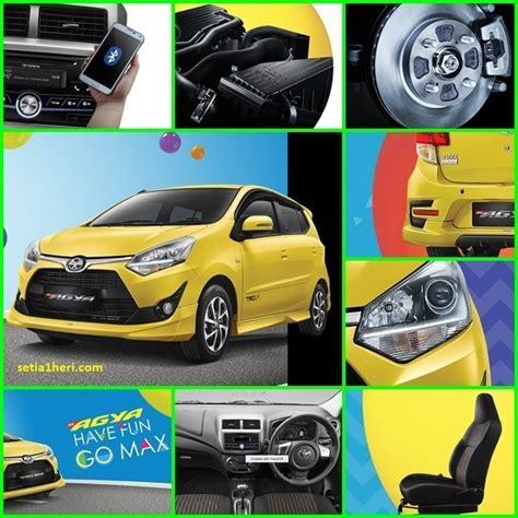 Modifikasi New Agya by Harga Dan Spesifikasi Lengkap All New Toyota Agya Tahun