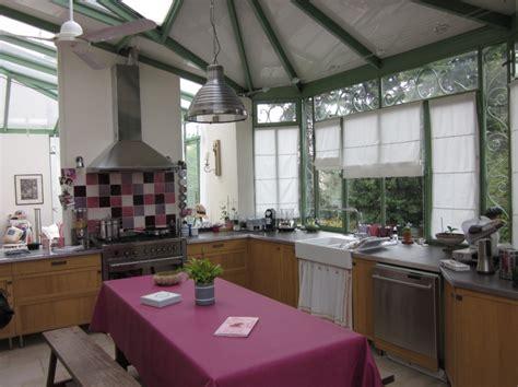 veranda extension cuisine veranda cuisine photo cuisine amenagee veranda rouen with