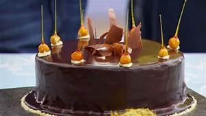 Light Flavored Mirror Glaze Cake Recipe Great British Baking Show Pbs