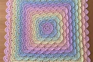 Shell Stitch Crochet Square