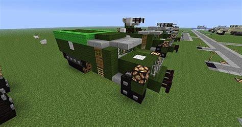 minecraft army jeep half track m3 minecraft project