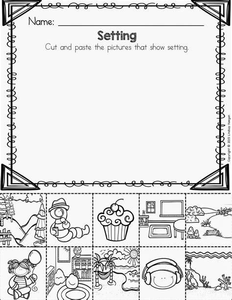 worksheet elements of a story worksheet grass fedjp