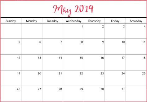blank calendar template format printable