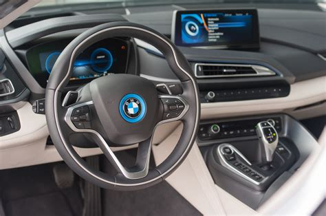 bmw supercar interior 2014 bmw i8 first test motor trend