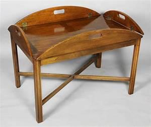 english mahogany butlers tray coffee table at 1stdibs With butlers tray coffee table