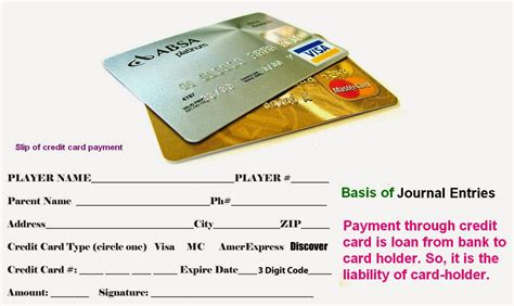 Please see the utility billing online payment portal guide to register and access your account. Credit Card Journal Entries   Accounting Education