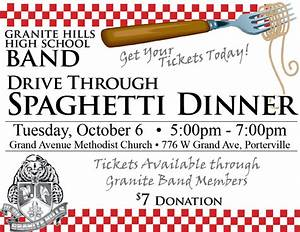 6 Best Images of Spaghetti Fundraiser Flyer Template PDF ...