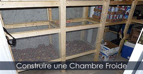 comment installer une chambre froide construire un sous sol with construire un sous sol