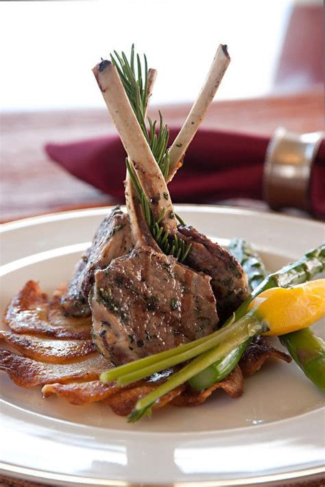 elegant   lamb chops    delight    catered event food
