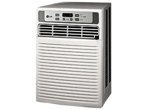 lg lwcr  cooling capacity btu casement window air conditioners neweggcom