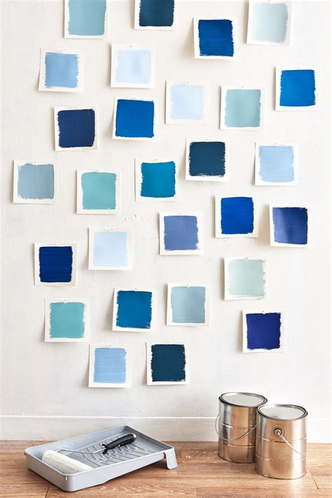 color sheet the best blue paint colors apartment therapy