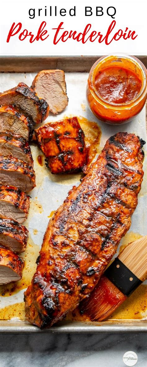 Pork tenderloin is best cooked quickly, while pork loin benefits from a longer, slower time. Grilled BBQ Pork Tenderloin | Recipe | Pork tenderloin recipes, Bbq pork tenderloin, Pork