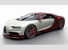 Colors of the Bugatti Chiron
