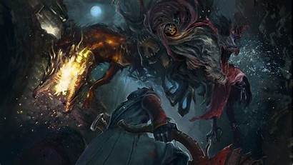 Bloodborne Monster Beast Hunter Dark Wallpapers Fantasy