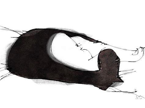 Ink Tuxedo Cat