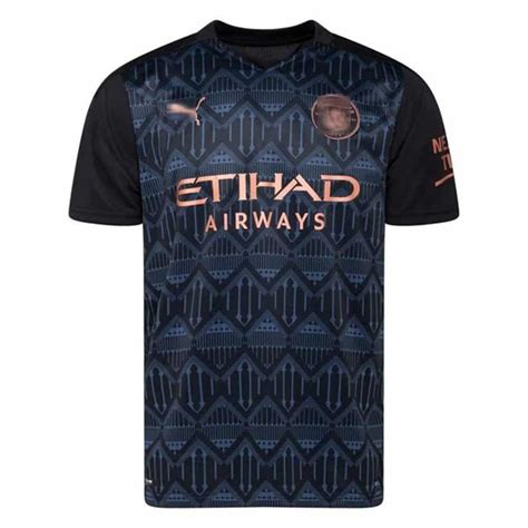 Camiseta Negra Manchest. City 2021 - Web Nº1 Camisetas de ...