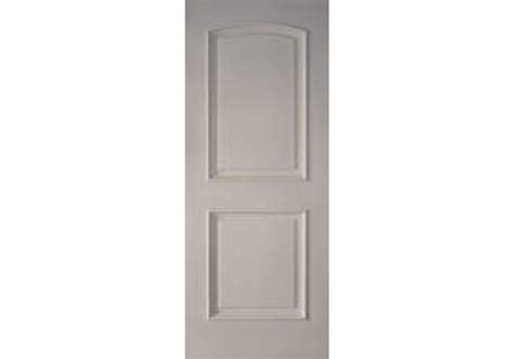 2 Panel Arched Top White Primed Fire Rated Door