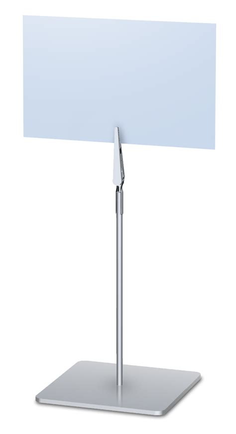 Tabletop Picture Holder by Table Top Sign Holder