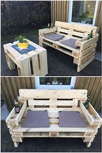 Couch Aus Paletten : gartensofa aus paletten pallets pallet projects and pallet furniture ~ Whattoseeinmadrid.com Haus und Dekorationen
