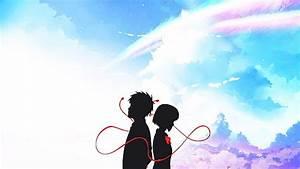 Hd, Wallpaper, Anime, Crossover, A, Silent, Voice, Mitsuha, Miyamizu, Shouko, Nishimiya