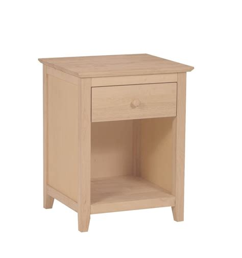 20 Inch Wide Nightstand by 20 Inch Lancaster 1 Drawer Nightstand Simply Woods
