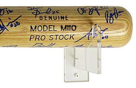 baseball bat wall mount brackets  horizontal mounts