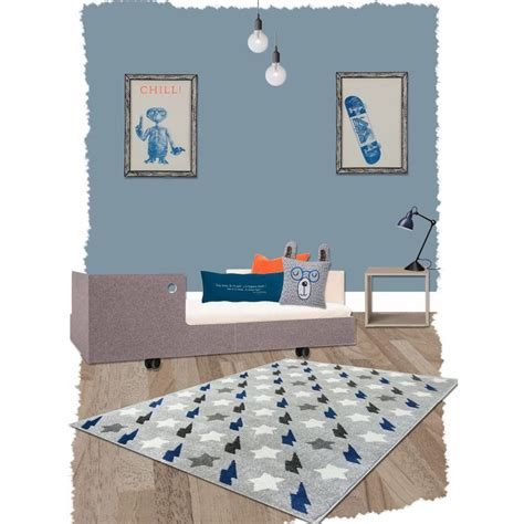 tapis chambre garcon tapis bolt bleu rectangle par nattiot decoration chambre