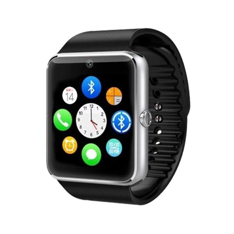 smart watches for iphone gt08 smart bluetooth wristwatch bracelet pedometer