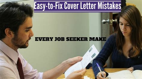 fix cover letter 13 easy to fix cover letter mistakes every seeker make