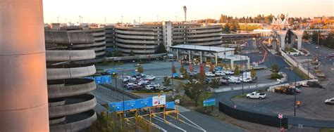 sea tac parking garage airport parking seattle tacoma airport