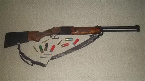 baikal gun combination izh 94 shotgun rifle guns around drilling
