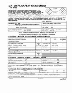 search awesome material safety data sheet msds online With how to create msds