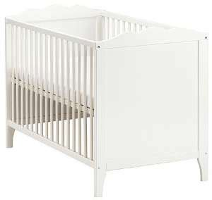 Ikea Kinderbett Hensvik In Weiß  Bett Mit Matratze