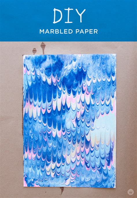 marbled paper thinkmakeshare