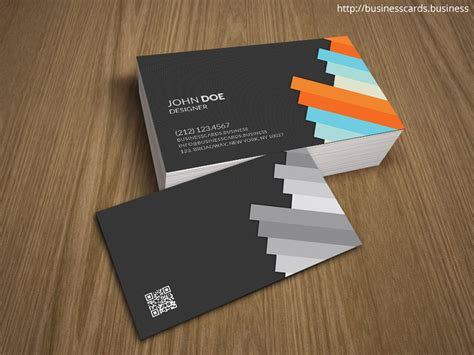 Business Card Template Photoshop Free Professional 3d Business Card Template For Photoshop