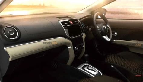 Interior Toyota All New Rush 2018 Jadi Lebih Modern