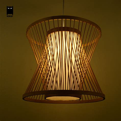 country ceiling fans with bamboo birdcage wicker rattan pendant light fixture rustic