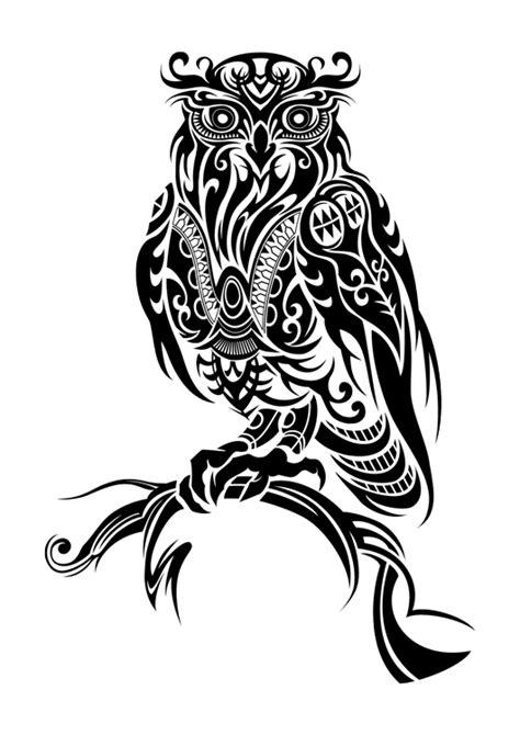 11 Beautiful Tribal Owl Tattoo