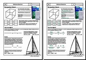 Masse Berechnen Mit Dichte : mathematik geometrie arbeitsblatt geschwindigkeit ~ Themetempest.com Abrechnung