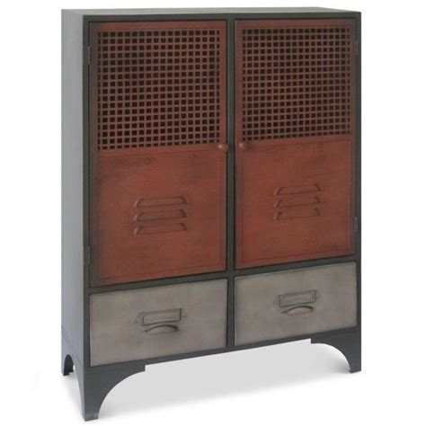 meubles rangement metal