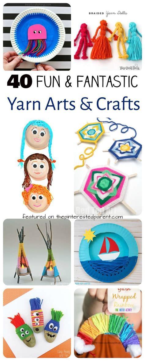 25 unique yarn crafts ideas on paper 398 | b4b1dc8e85c1134ce76add5bd443ee5c