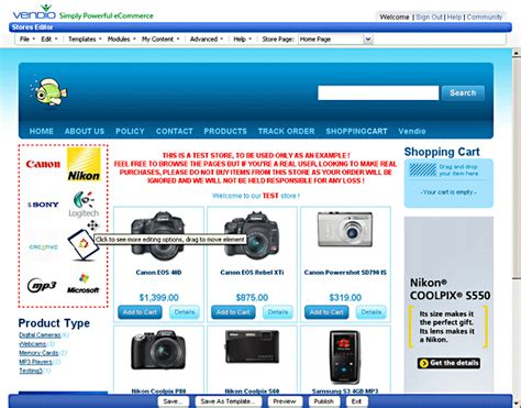 Store Builder Store Builder Software Fast Easy To Use Web Store