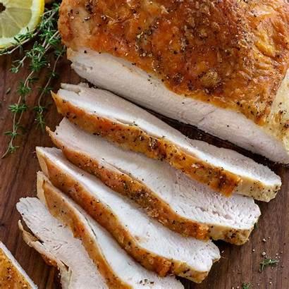 Turkey Breast Roast Roasted Meat Sliced Menu