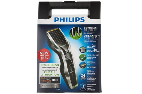 philips hc cordless rechargeable hair clipper shaver trimmer