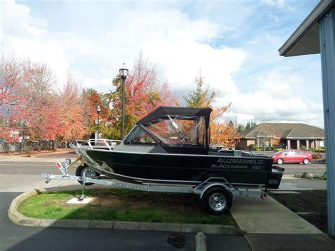 Aluminum Fishing Boats For Sale Portland Oregon by Alumaweld Blackhawk Boats For Sale In Portland Oregon