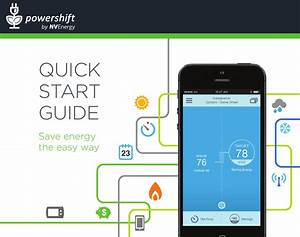 Nv Energy Powershift Smart Thermostat Quick Start Guide