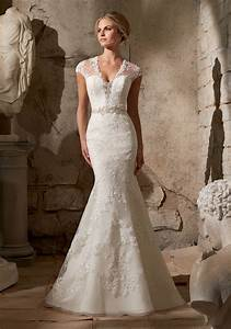 venice lace appliques on net with detailed diamante With detailed wedding dresses